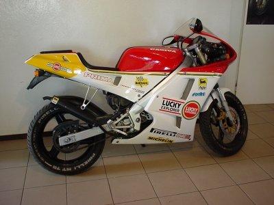 Cagiva Mito 50cc. が、このCAGIVAのPrima50。